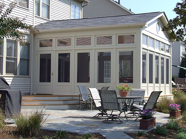 Cdc 3 season rooms for Three season porch