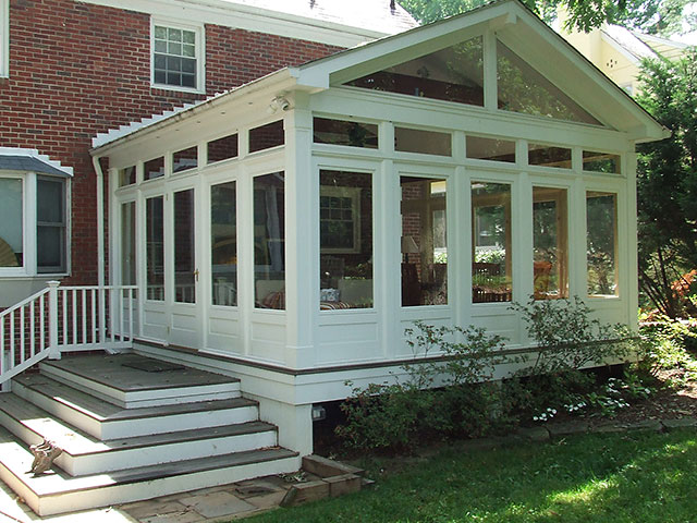 Cdc 3 season rooms for Four season porch plans